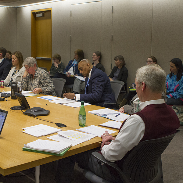 Special meeting of the Board of Regents