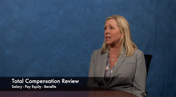 CHRO McGee provides update on compensation review
