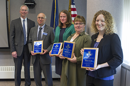 Staff Make Students Count awardees 2019
