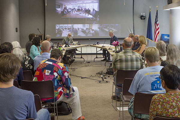 Meeting of the Board of Regents